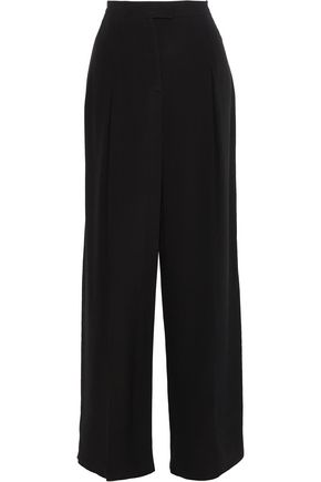 VALENTINO Silk wide-leg pants