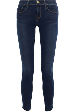 FRAME Le Skinny high-rise skinny jeans