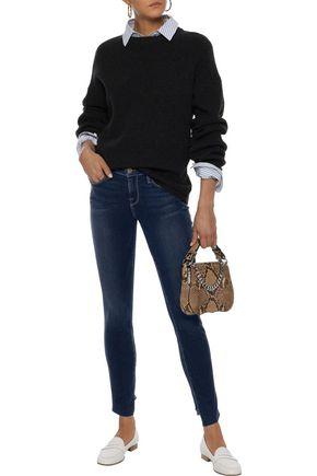 FRAME Le Skinny high-rise skinny jeans
