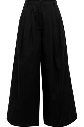 VALENTINO Cotton-twill culottes