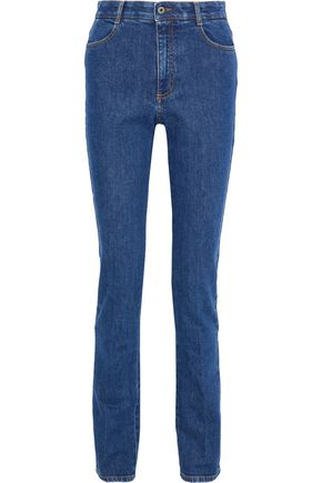 STELLA McCARTNEY High-rise slim-leg jeans