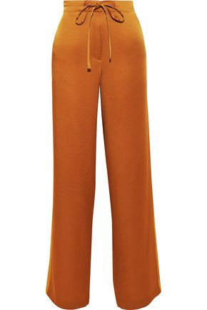 HAIDER ACKERMANN Satin-crepe wide-leg pants