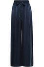 ZIMMERMANN Washed-silk wide-leg pants