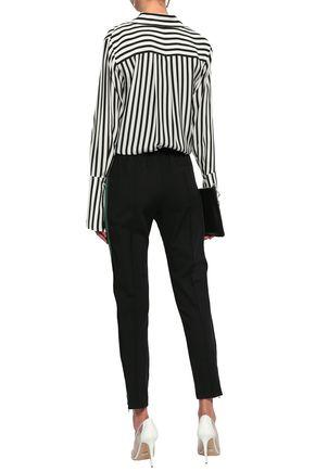 HAIDER ACKERMANN Striped wool-blend tapered pants