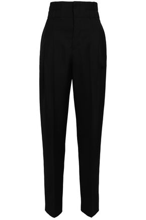 HAIDER ACKERMANN Pleated wool tapered pants