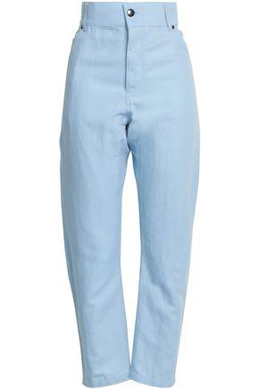 HAIDER ACKERMANN Cotton and linen-blend gabardine tapered pants