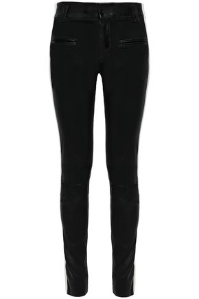 HAIDER ACKERMANN Leather skinny pants