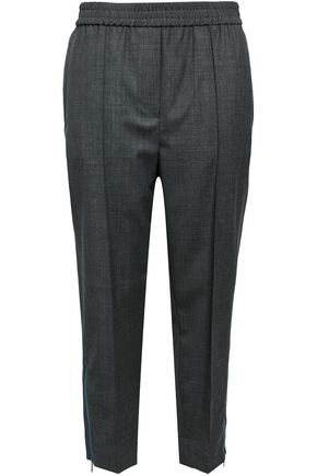 BRUNELLO CUCINELLI Cropped wool tapered pants