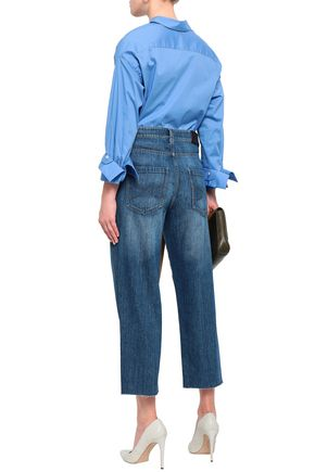 BRUNELLO CUCINELLI High--rise straight-leg jeans