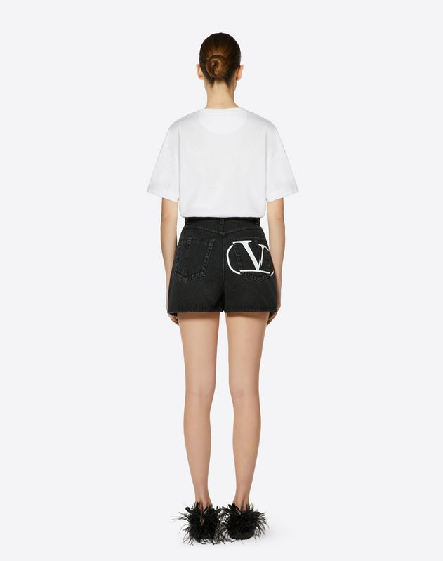 Deconstructed Go Logo Shorts