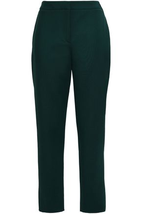 OSCAR DE LA RENTA Wool-blend tapered pants