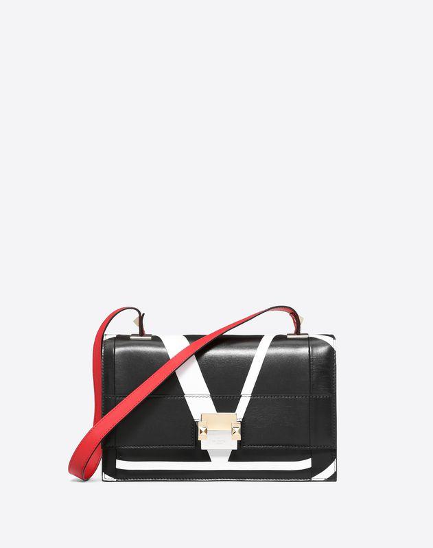 e5d0e8bd6db39 The Case Medium Crossbody Bag With Intarsia Design ...