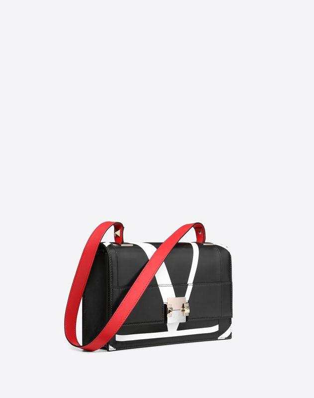 cbd83017b6 The Case Medium Crossbody Bag With Intarsia Design
