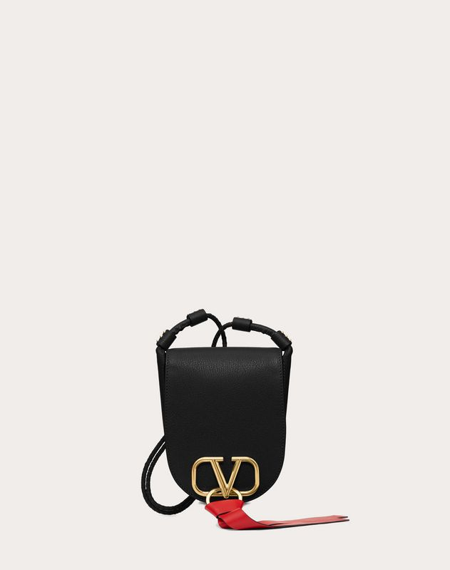 Small V-Ring Crossbody Bag