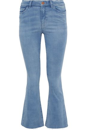 M.I.H JEANS Bodycon Marrakesh high-rise kick-flare jeans
