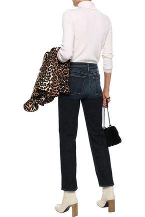 FRAME Le Nouveau mid-rise straight-leg jeans