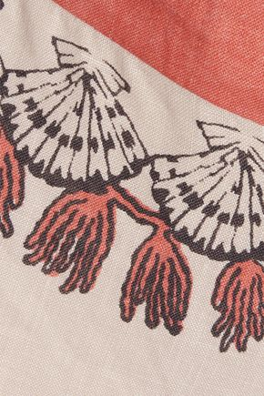 VALENTINO Printed voile culottes