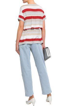BRUNELLO CUCINELLI High-rise wide-leg jeans