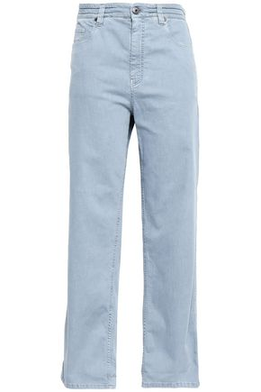 BRUNELLO CUCINELLI High-rise wide-leg jeans