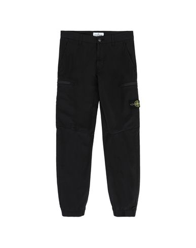 STONE ISLAND JUNIOR Trousers Man 30110 f