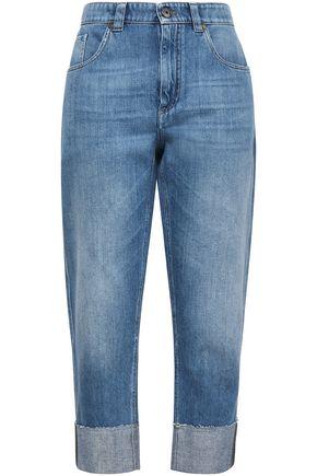 BRUNELLO CUCINELLI High-rise straight-leg jeans