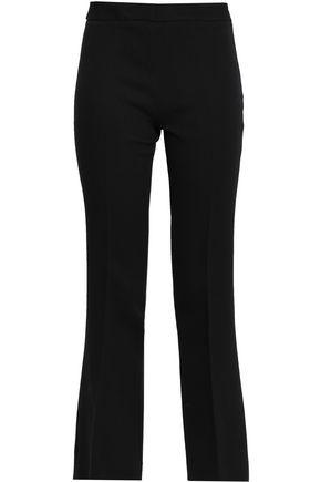 GIAMBATTISTA VALLI Cropped crepe bootcut pants
