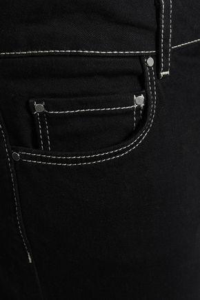 CLAUDIE PIERLOT High-rise slim-leg jeans