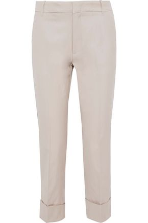 Cotton Straight Leg Pants by Vince.