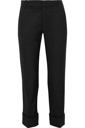 VINCE. Cotton straight-leg pants