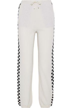 STELLA McCARTNEY Intarsia wool tapered pants