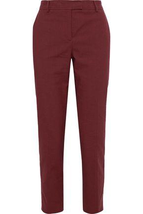 M MISSONI Cropped cotton-blend slim-leg pants