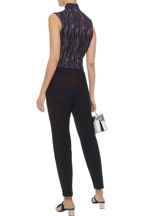 M MISSONI Cropped cotton-blend tapered pants