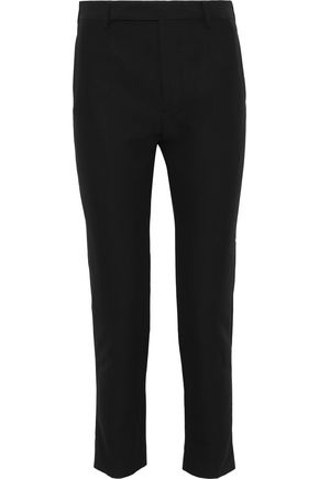 RICK OWENS Austin cotton-blend faille skinny pants
