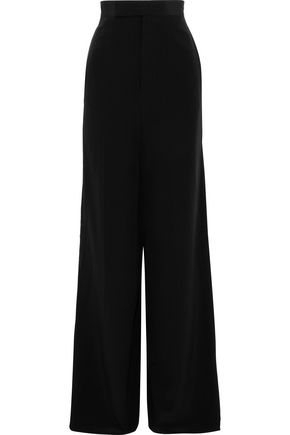 RICK OWENS Viscontis silk wide-leg pants