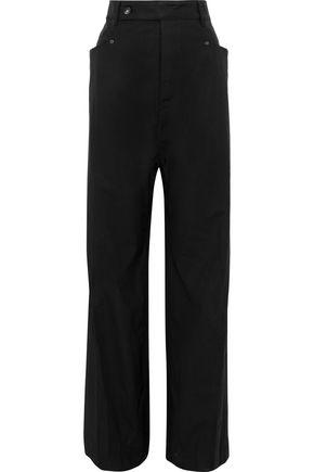 Mastodon Cotton Blend Canvas Wide Leg Pants by Drkshdw By Rick Owens