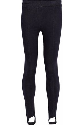 HELMUT LANG Denim stirrup leggings