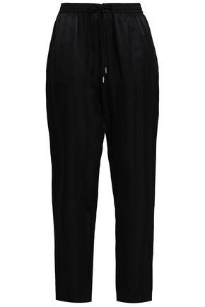 ALEXANDERWANG.T Silk-jacquard tapered pants