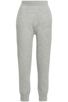 AGNONA Mélange cashmere track pants