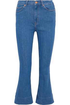 M.I.H JEANS Marty mid-rise kick-flare jeans
