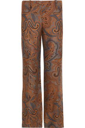 ETRO Jacquard bootcut pants
