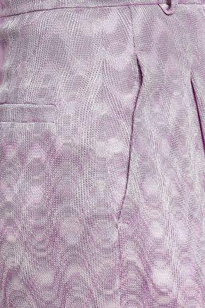ミッソーニ かぎ針編みニット ワイドレッグ パンツ
