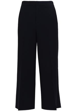 FILIPPA K Cropped crepe wide-leg pants