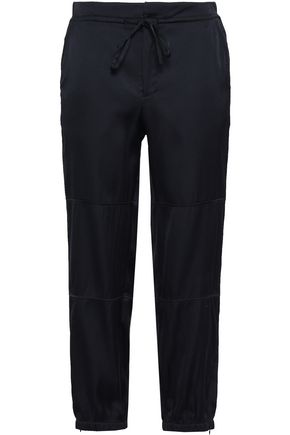 FILIPPA K Cropped satin tapered pants