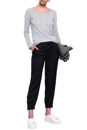 FILIPPA K Cropped satin tapered pants