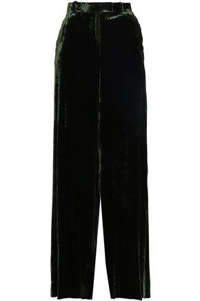 EACH X OTHER Velvet wide-leg pants