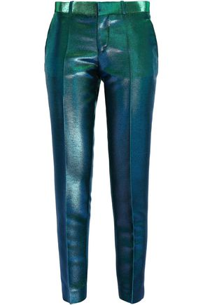 EACH X OTHER Iridescent woven patered pants