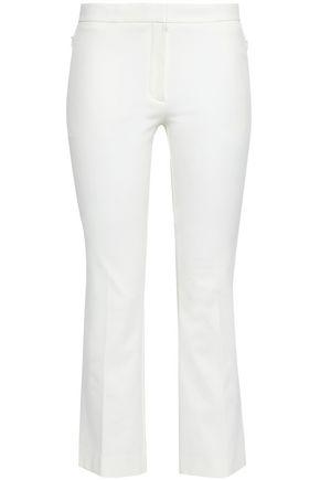 THEORY Cotton-blend kick-flare pants