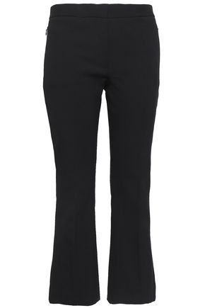 THEORY Cotton-blend kick-flared pants