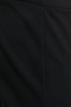 THEORY Cropped cotton-blend slim-leg pants