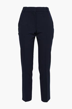 THEORY Stretch-wool slim-leg pants